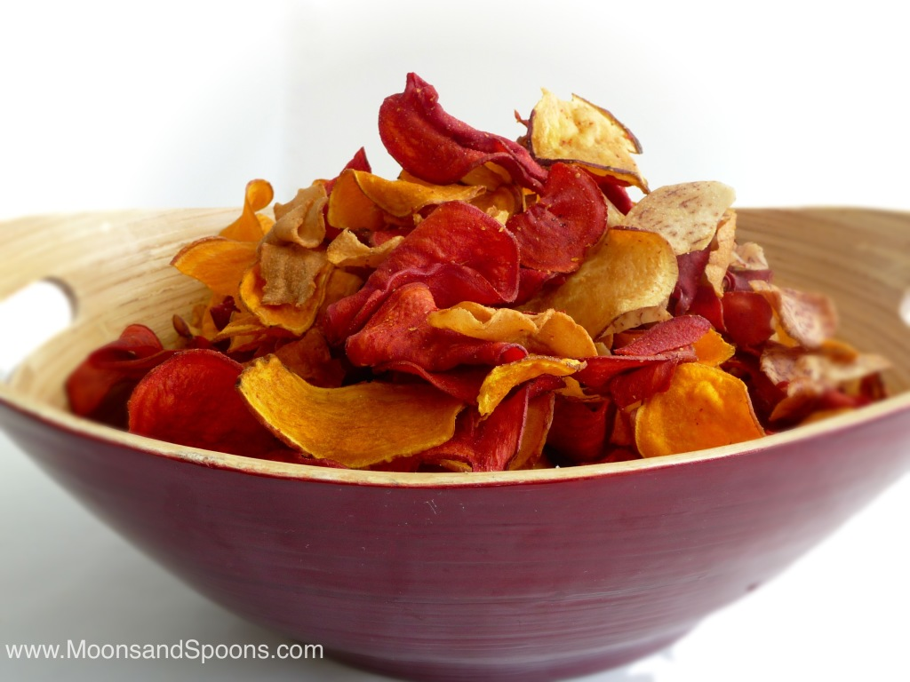 Vegetable Root Chips are great on the go!