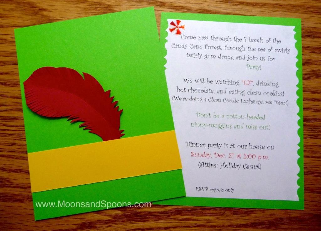Elf Invite Blog